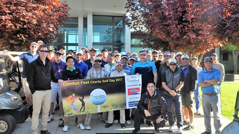 Comfort Feet Charity Golf Day 2017